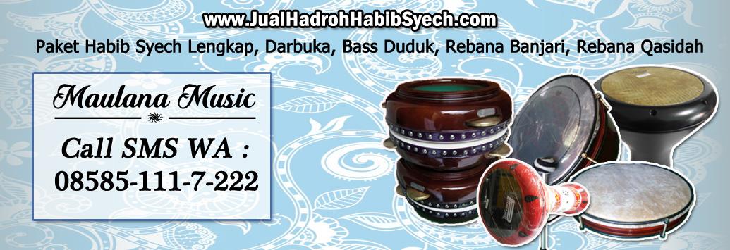 Jual Hadroh Habib Syech | pengrajin rebana troso jepara | jual alat hadroh murah